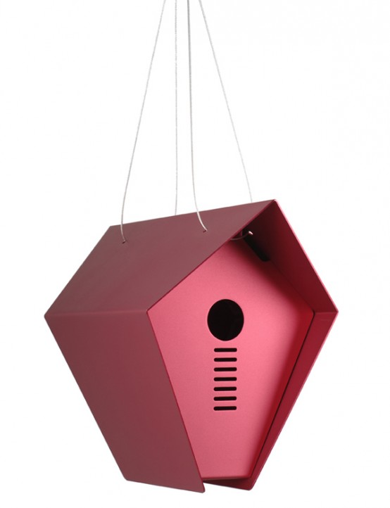 Hepper Roost Red Bird House