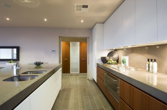 hia house of the year 2009 kitchen