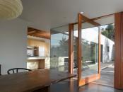 Hidden In Ladscape House Design