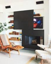 Hiding Your Tv Trendy Door And Panels Ideas
