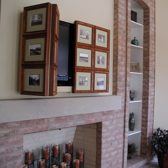 Hiding your tv 29 trendy panels and doors ideas digsdigs for Meuble avantage