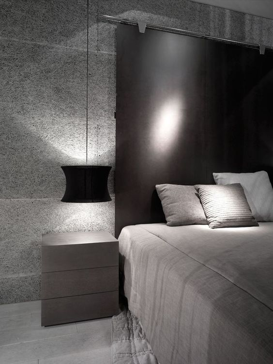 high metal masculine headboard
