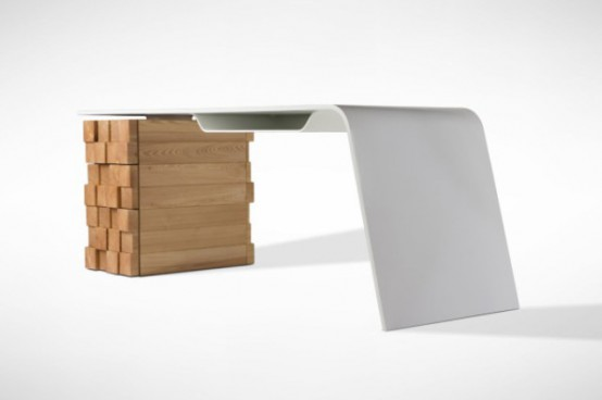 High Tech Katedra Desk That Charges Your Phone