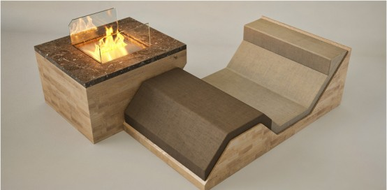 Hillside Fireplace