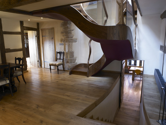 Restoration of historic farmhouse from elizabethan period for Old home interior pictures