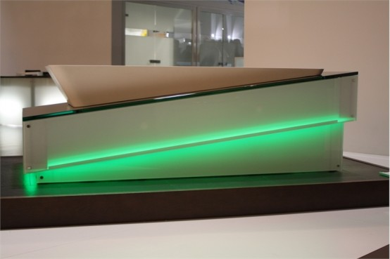 Unusual Futuristic Designers Bathtub – Libeskind from Hoesch
