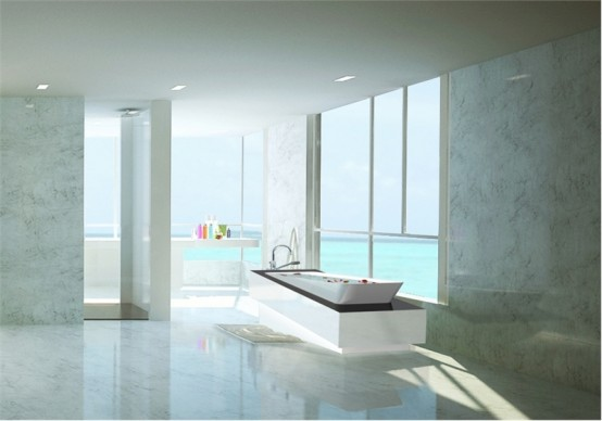 Hoesch Libeskind Futuristic Bathtub