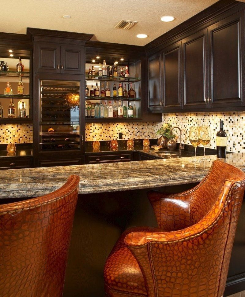 5 home bar designs to blow your mind digsdigs - Home basement bar ideas ...