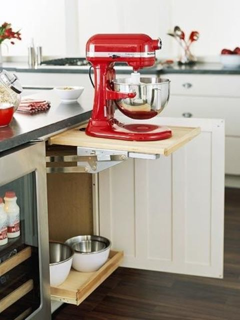 20 Home Mixer Stations That Make Cooking Comfier