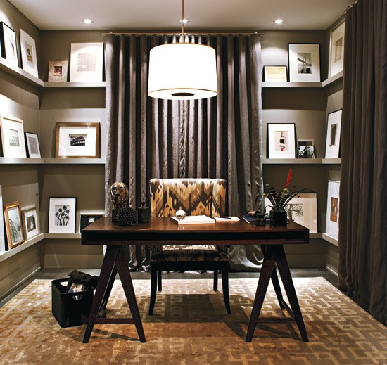 Small Home Office Room: 70 Gorgeous Home Office Design Inspirations