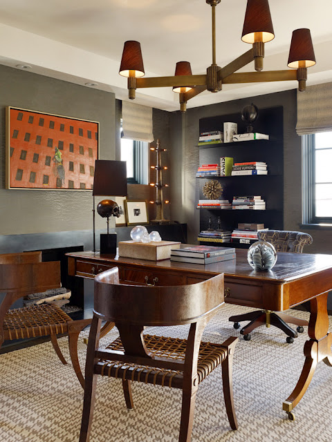Home Library Decorating Ideas: 70 Gorgeous Home Office Design Inspirations