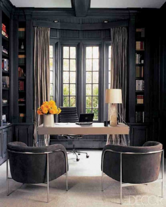70 gorgeous home office design inspirations digsdigs - Home office design ...
