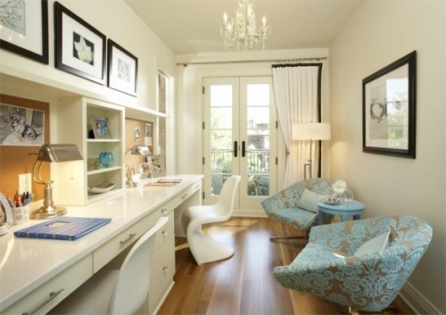 70 gorgeous home office design inspirations digsdigs for Home design inspiration
