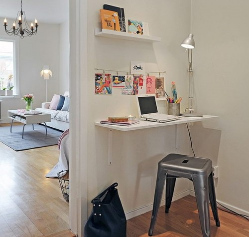 Small Home Office Room: 57 Cool Small Home Office Ideas
