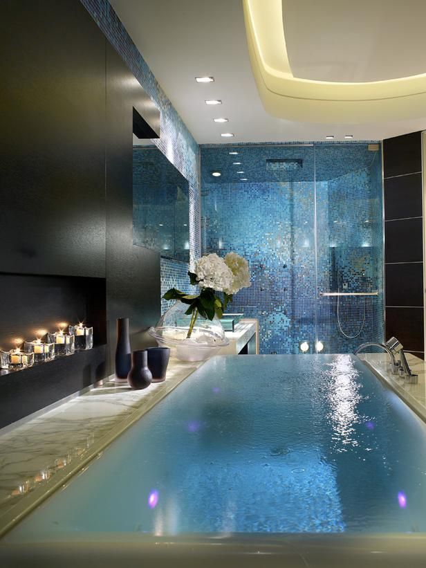 Your Relaxation Oasis: 40 Home Spa Bathroom Designs