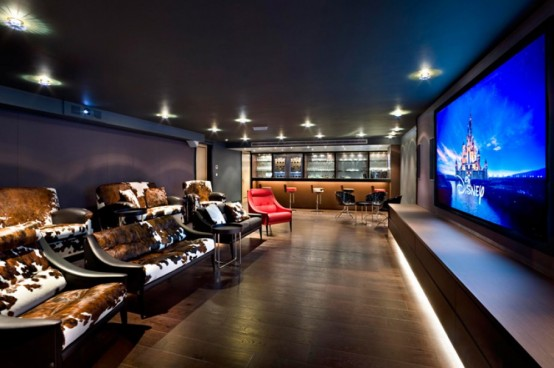 15 Cool Home Theater Design Ideas - Digsdigs