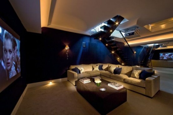 home theater designs - Home Theater Design Ideas