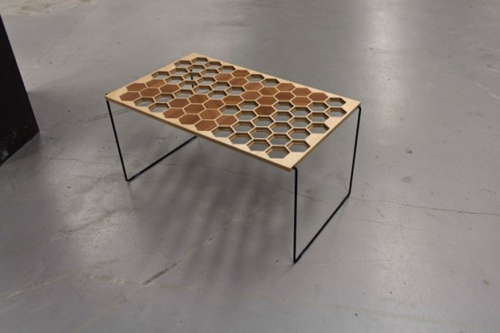 Great Honeyb Coffee Table That Can Change Structure