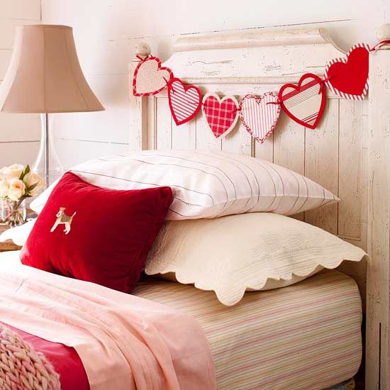 Valentine Home Decorations: 40 Hot Red Valentine Home Décor Ideas