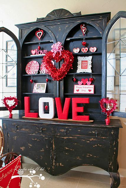 40 hot red valentine home décor ideas - digsdigs