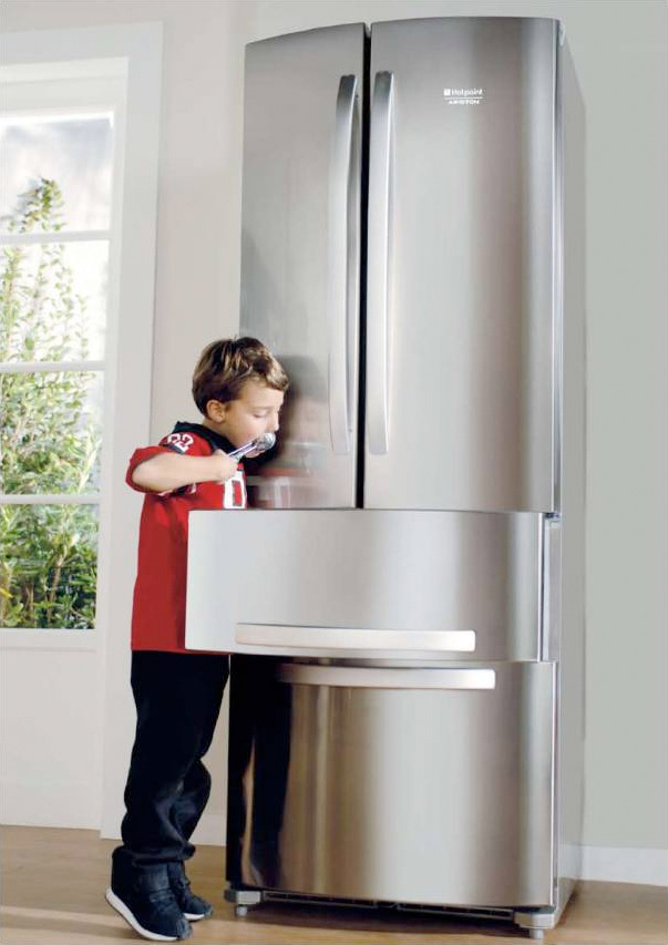 New Ergonomic 4 Doors Fridge Quadrio From Hotspot