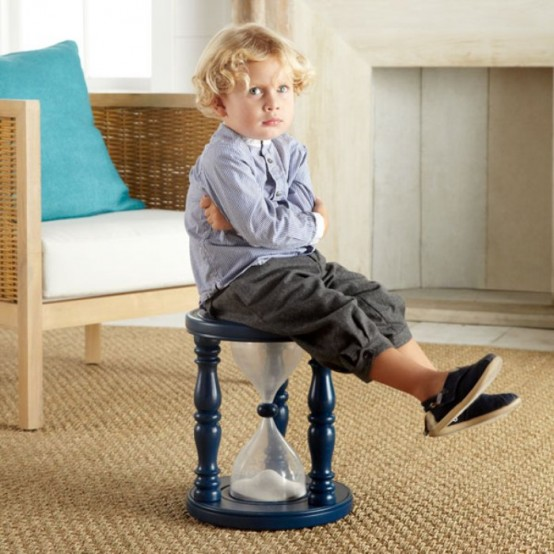 Hourglass Stool For Kids And Adults