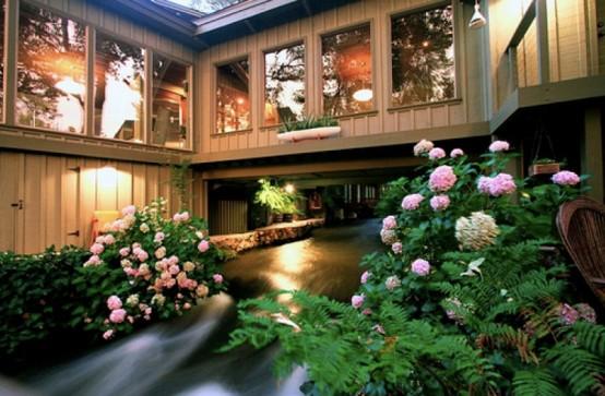 House Across River