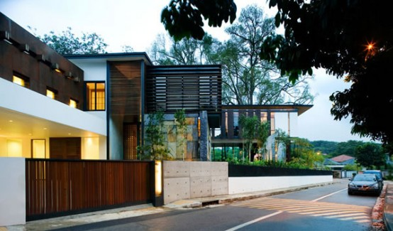 House At Cluny Hill Singapore
