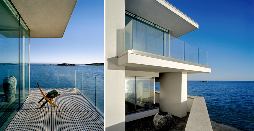 Modern House Bounded By The Sea by de Blacam and Meagher | DigsDigs
