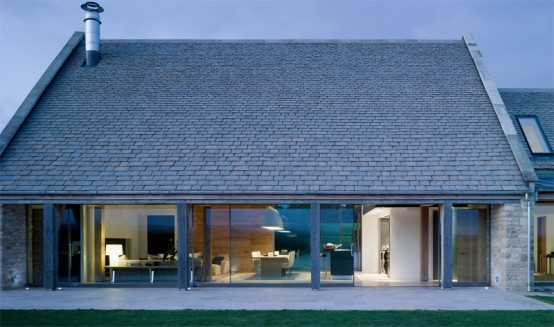House Converted From Barn