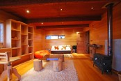 House Entirely Made Of Wood