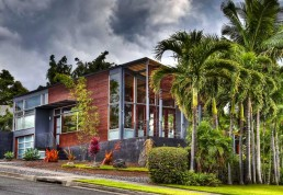 House In Hawaiian Traditions Of Basalt Masonry