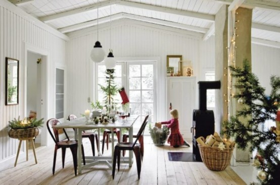 House in scandinavian minimalism with vintage digsdigs for Vintage minimalist interior design