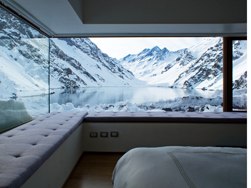 Minimalist House Located At 2990 Meters Above Sea Level