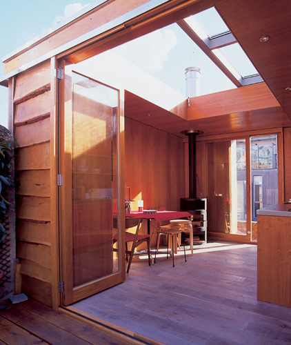 Urban Hut on a Roof