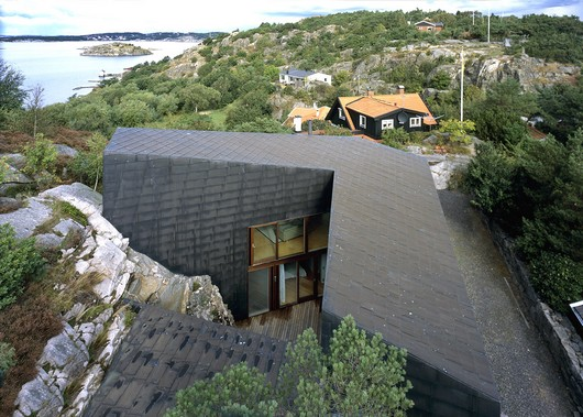 House On The Cliff Carved Into The Solid Rock