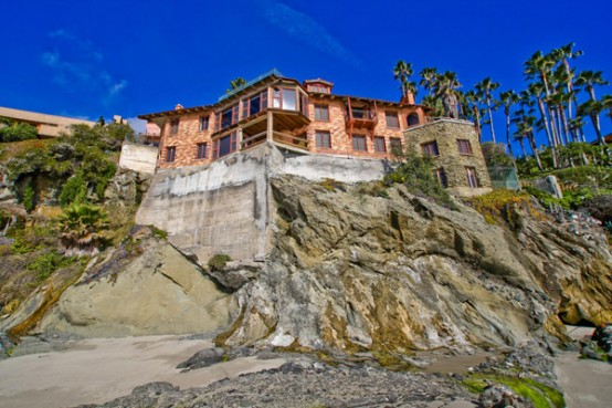 California's House on the Cliff with Private Beach – Villa Rockledge