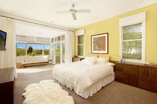 house warm interior bedroom