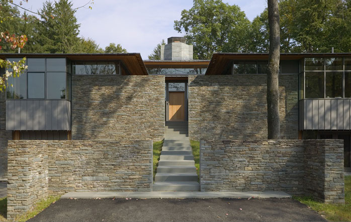 House with Four Courtyards – The Purchase Residence