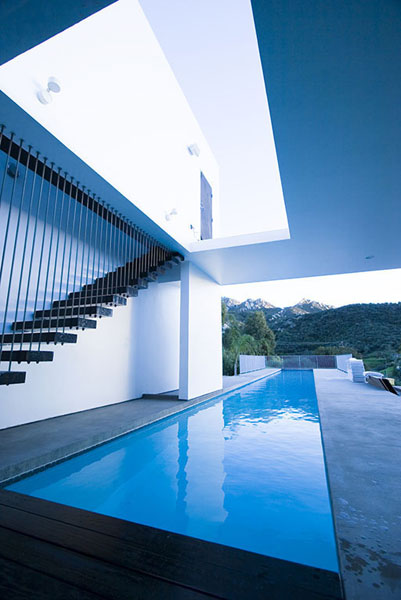 House With A Lap Pool