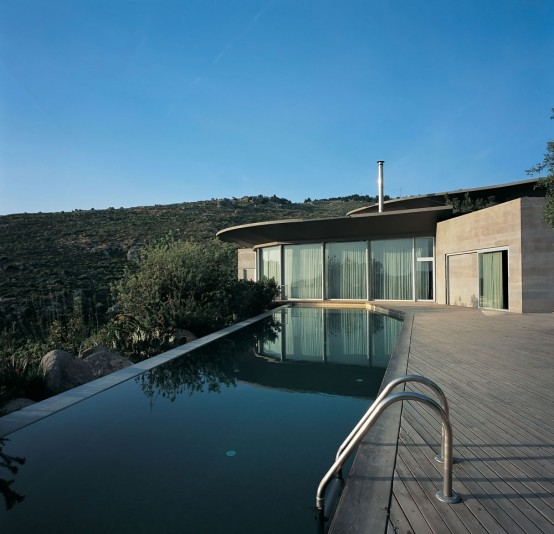House With Pools On The Roof That Collect Rainwater Digsdigs