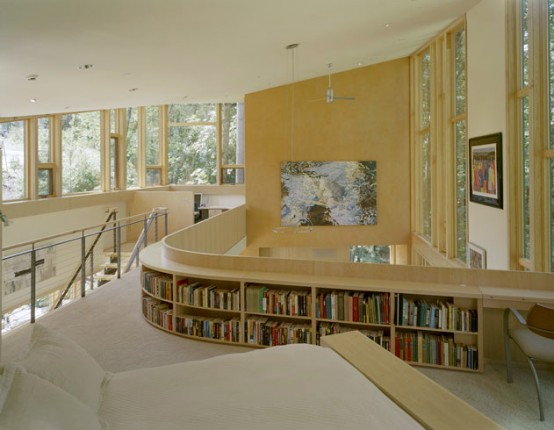 House With Clever Books Storage