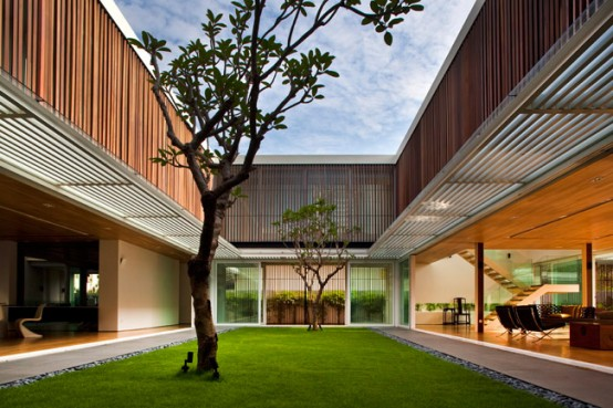 House with Enclosed Internal Garden – Six Ramsgate by Wallflower Architecture+Design