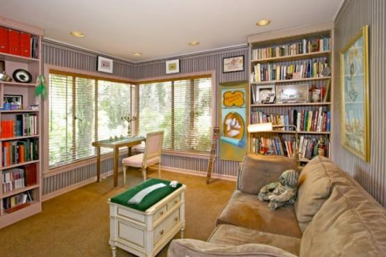 House With Exotical Garden