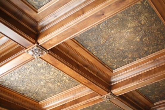 How To Create A Vintage Ceiling: 3 Ways And 20 Ideas