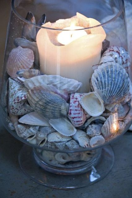 How To Decorate Small Second Living Room Off Of Kitchen: How To Decorate With Seashells: 37 Inspiring Ideas
