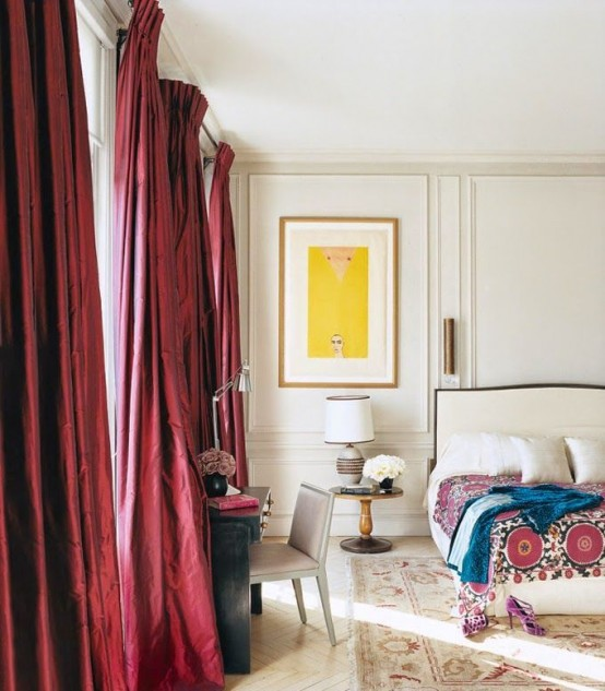 How Decorate Your Bedroom Marsala Ideas Digsdigs
