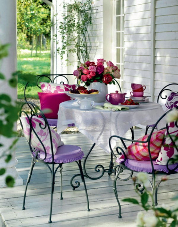How To Decorate Your Terrace In Provence Style