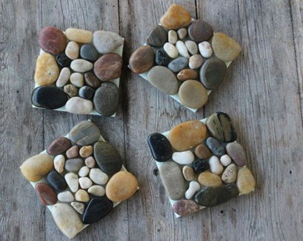 How To Incorporate Pebbles Into Your Home D 233 Cor 28 Ideas