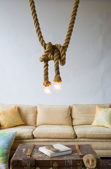 How To Incorporate Rope Into Home Décor: 34 Ideas